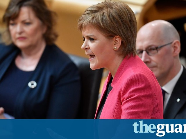 Nicola Sturgeon tells May blocking Scottish independence referendum would be 'undemocratic' - Politics live
