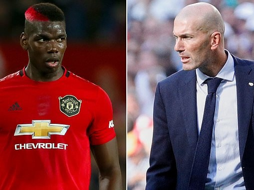 Man United news: Paul Pogba seen meeting Zinedine Zidane in Dubai fuelling Real Madrid link