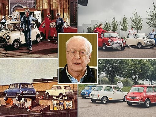 Mini recreates the best scenes from The Italian Job at its Oxford car factory