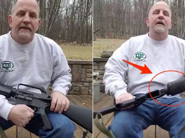 A legal gun owner destroyed his AR-15 rifle in the wake of the Florida school shooting: 'This weapon will never be able to take a life'