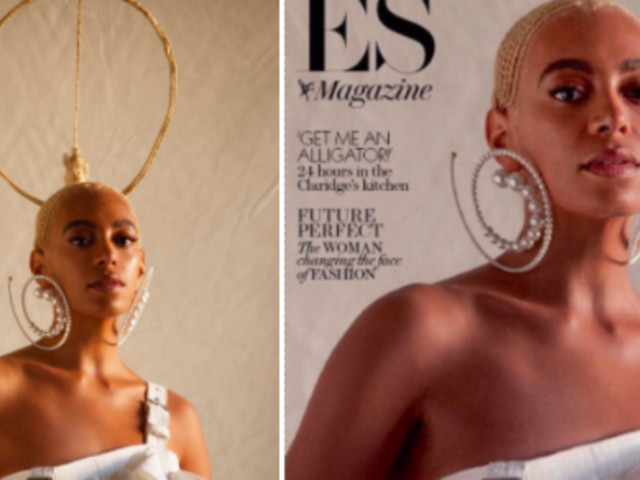 Solange Tells Magazine 'Don't Touch My Hair' After Her Braided Crown Is Omitted