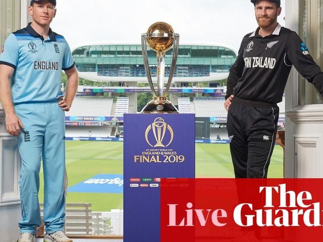 New Zealand v England: Cricket World Cup final 2019 – live!