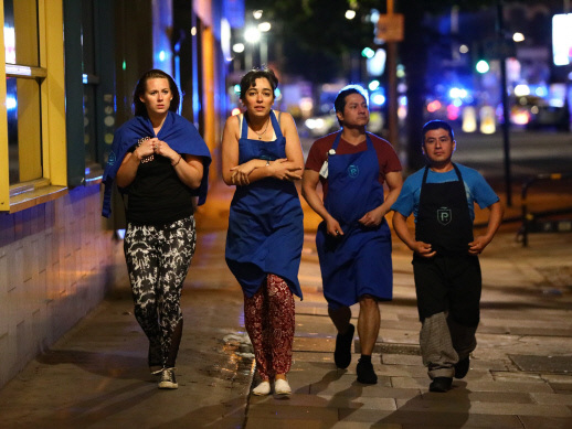 A summer's night out in London turns to horror