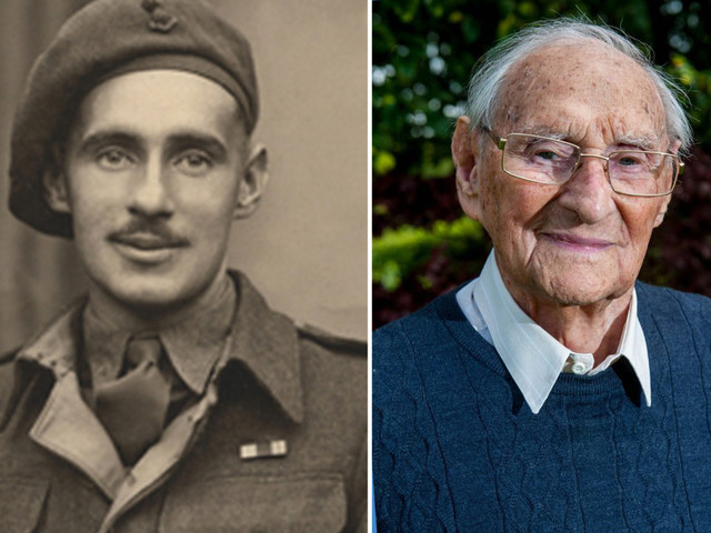WW2 hero who escaped from Nazi prison camps FOUR times dies aged 101
