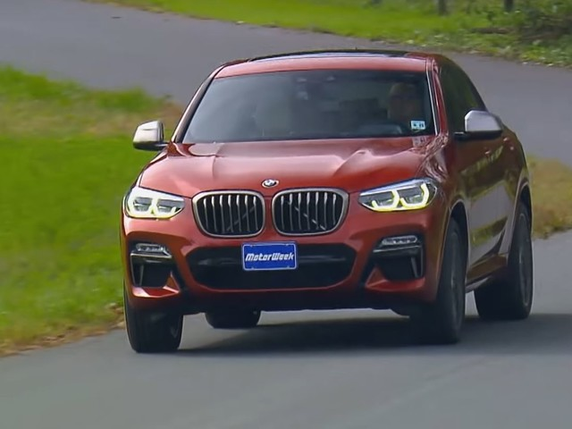 Video: BMW X4 M40i Gets the MotorWeek Review Treatment