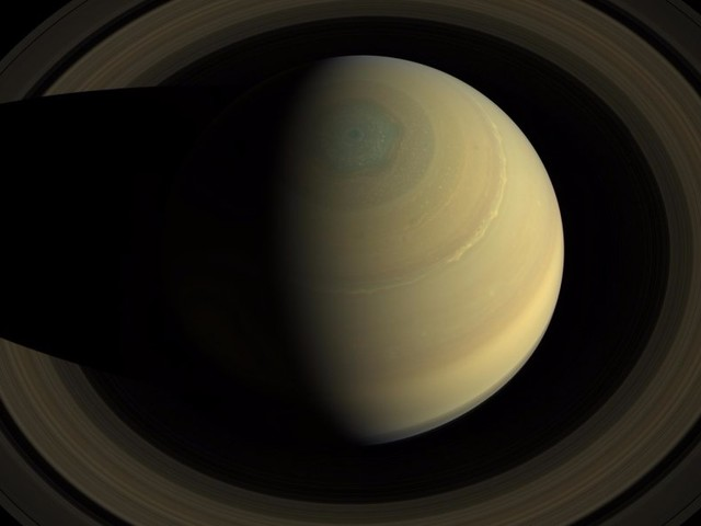 NASA is now receiving the last photos ever taken by the Cassini probe at Saturn