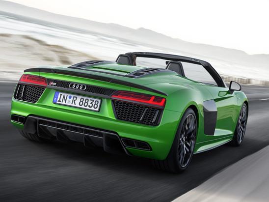 Audi R8 Spyder V10 Plus Makes Public Debut Soon