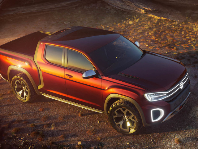 Volkswagen unveils new Atlas Tanoak pick-up concept