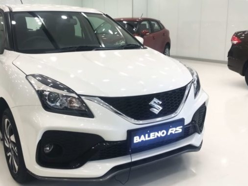 Facelifted Baleno RS Hits Showroom Floors, Captured in Video