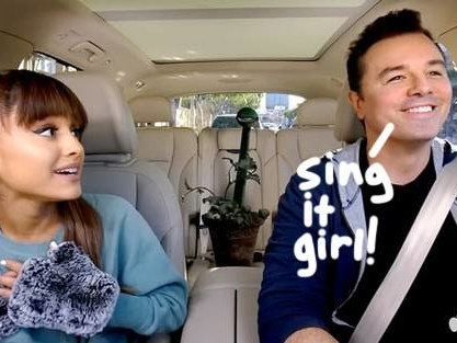 Ariana Grande & Seth MacFarlane Singing Suddenly Seymour Will Give You Life! WATCH!