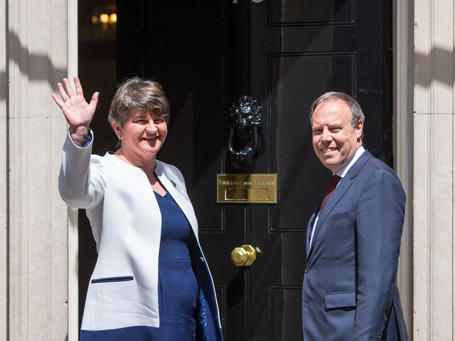 Theresa May Warns DUP Her Queen's Speech To Go Ahead On June 21 - With Or Without A Commons Deal