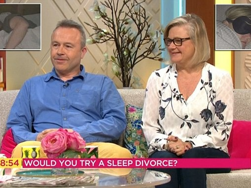 Lorraine: Couple say separate bedrooms saved their marriage