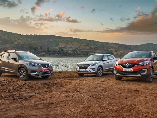 Review: Nissan Kicks vs Renault Captur vs Hyundai Creta comparison