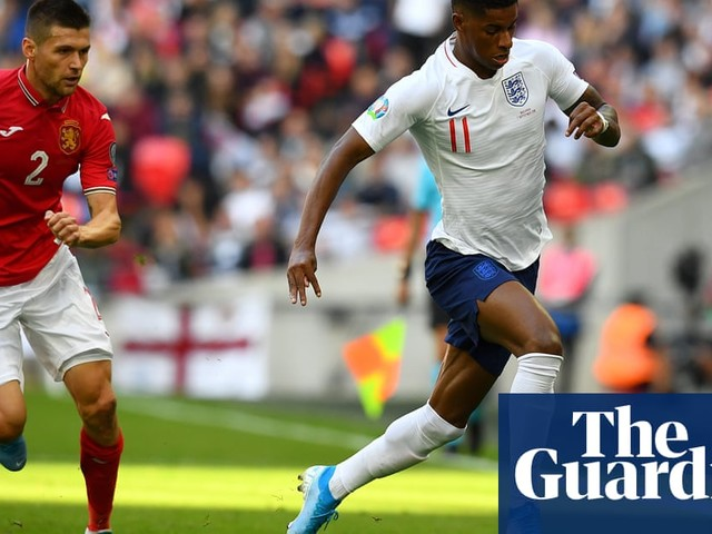 Gareth Southgate urges Marcus Rashford to use his speed more effectively
