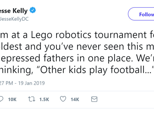 Dad Makes Fun Of His Son For Winning At LEGO Robotics Tournament, Whole Twitter Thread Shreds Him Apart