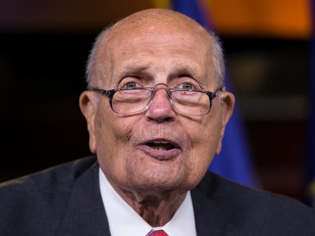 John Dingell became a Twitter celebrity in the last years of his life with witty remarks, political commentary and humor until the end