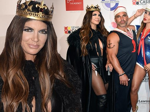 Teresa Giudice enjoys Halloween party with Joe and Melissa Gorga