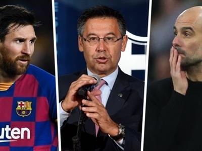 Barcelona deny paying social media accounts to attack Messi and Guardiola
