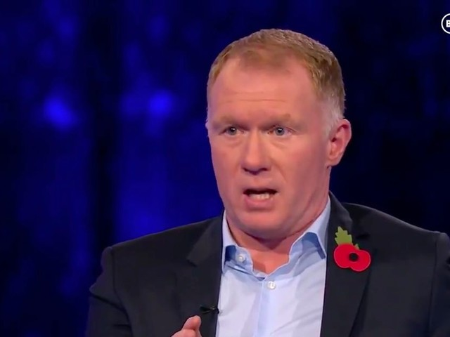 Paul Scholes hints Man Utd are a one-man team after West Brom victory