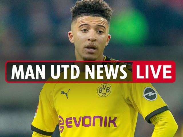 6.30pm Man Utd news LIVE: Rashford gives opinion on Jadon Sancho transfer, De Ligt wanted, Cristiano Ronaldo update