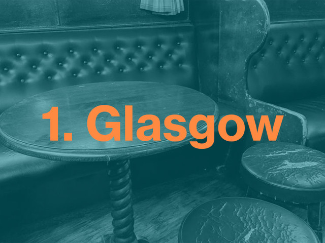Scotland #1: Glimpses of Glasgow