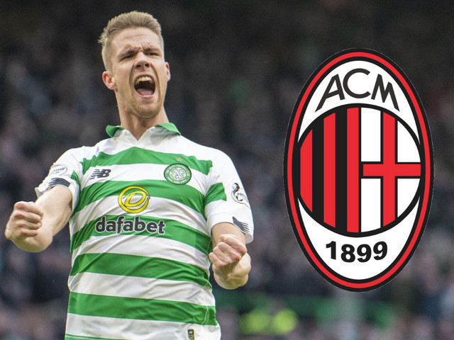 AC Milan in talks with Celtic star Kris Ajer's agent as they target summer transfer swoop