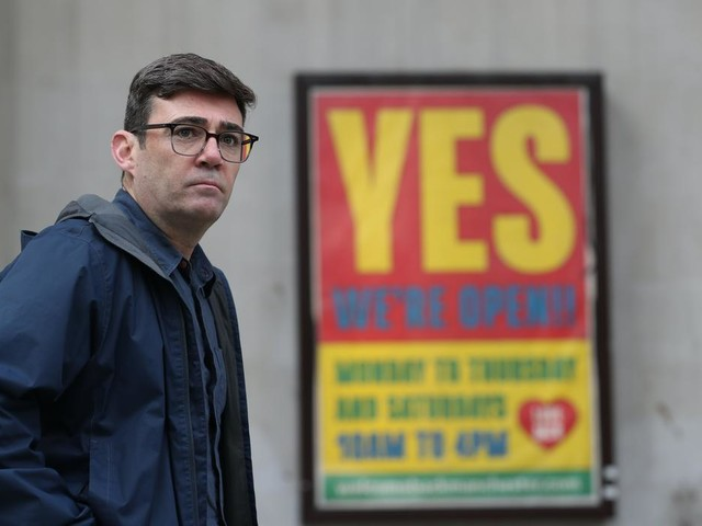Burnham blames Sunak in Manchester lockdown row as talks descend into confusion