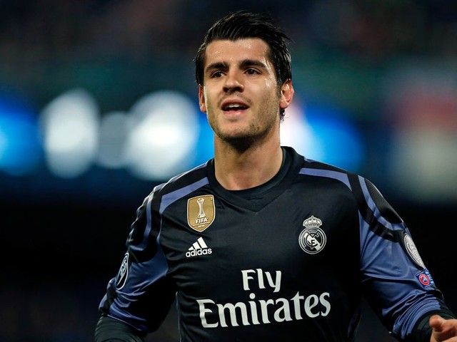 Man Utd manager Jose Mourinho believes Alvaro Morata can be his next striking star