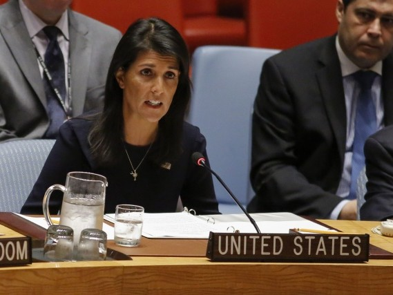 US envoy says N. Korean leader 'begging for war' as UN mulls sanctions