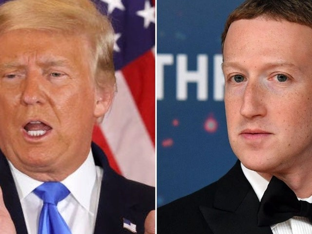 Trump said he might have banned Facebook as president but 'Zuckerberg kept calling' and 'telling me how great I was' (TWTR, FB)