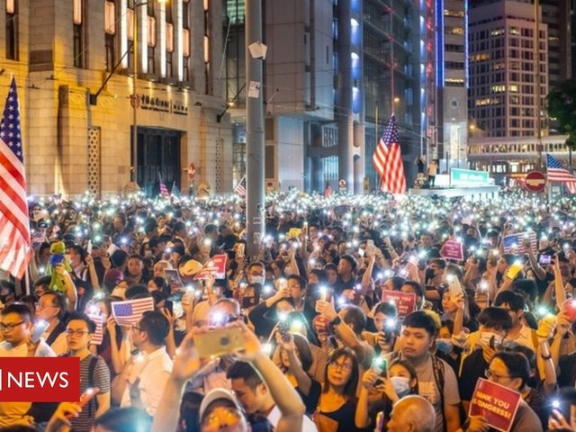 Hong Kong protests: US lawmakers pass Human Rights and Democracy Act