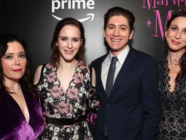 Rachel Brosnahan Joins 'Marvelous Mrs. Maisel' Co-Star at NYC Premiere!