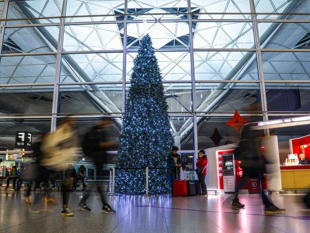 London Stansted gears up for a busy Christmas getaway