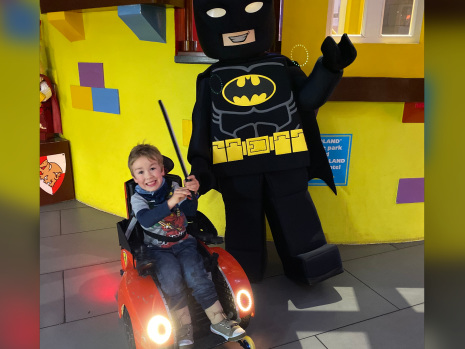 Five-year-old in wheelchair forced to prove he can walk at U.K. Legoland