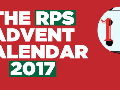 The RPS Advent Calendar, Dec 13th