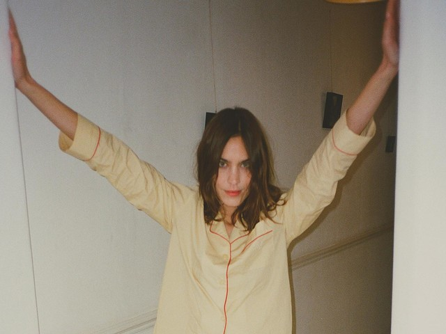 Alexa Chung launches sleepwear you'll want to wear all day