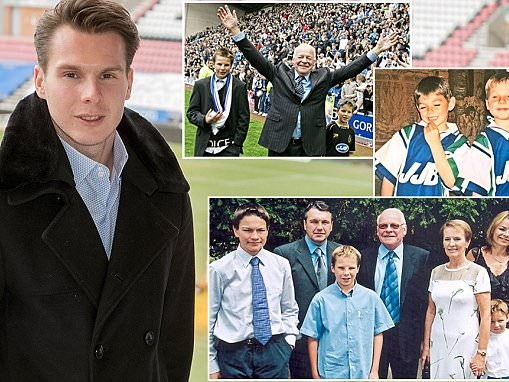 David Sharpe on being football's youngest chairman