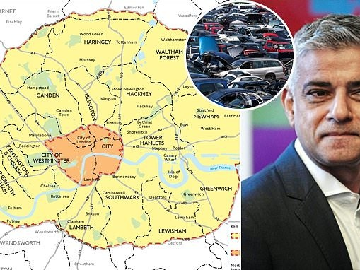 London to get £25m scrappage scheme ahead of 2021 ULEZ extension