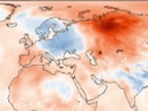 Arctic records its hottest temperature EVER as mercury hits 100F in town of Verkhoyansk in Siberia