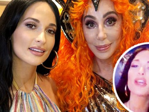 Kacey Musgraves celebrates her 31st birthday at a Cher concert in Las Vegas