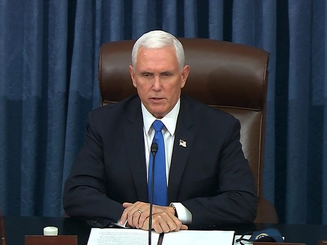 SCOOP: Pence opposes 25th Amendment efforts to remove Trump following Capitol riot, VP advisors tell Insider