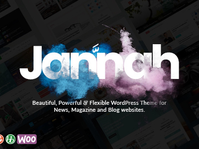 Jannah - WordPress News Magazine Blog & BuddyPress Theme (News / Editorial)