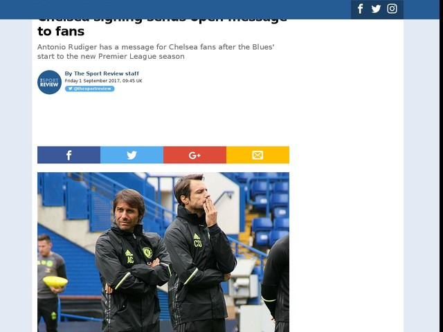 Chelsea signing sends open message to fans