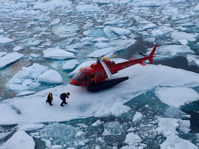 3 winners and 3 losers from a melting Arctic
