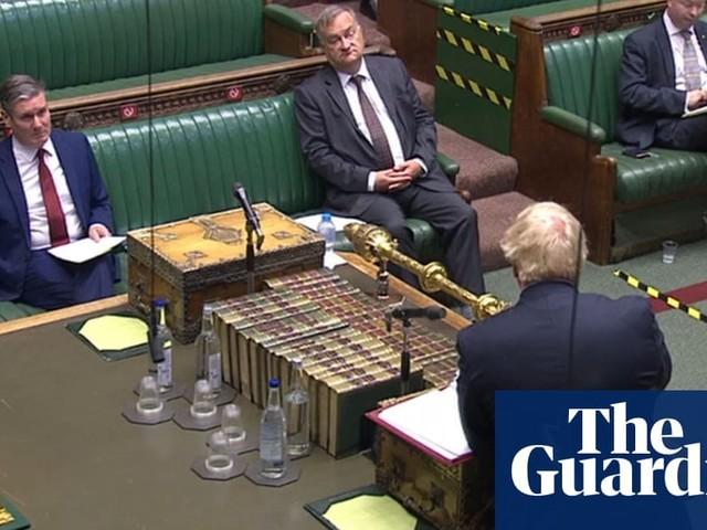 PMQs: Keir Starmer criticises Boris Johnson over Russia report delay