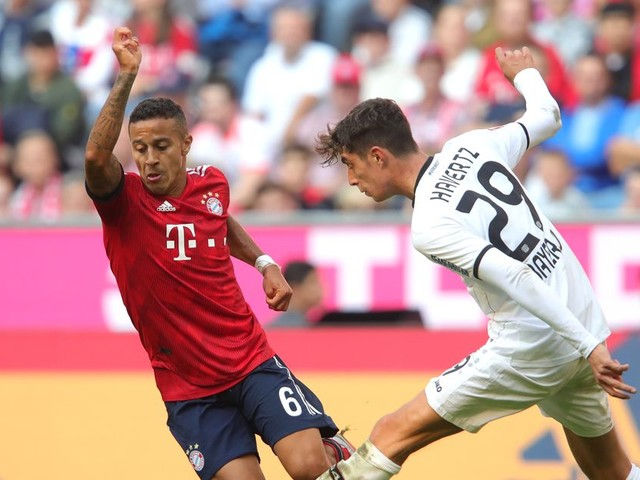 Thiago uncertainty could lead Bayern Munich closer to Chelsea target Kai Havertz — report