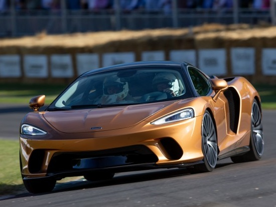 McLaren GT ride review: a sprint up Goodwood hill in the 'soft' but speedy supercar