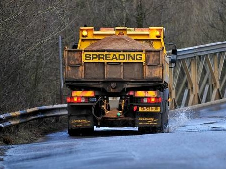 In graphics: More weather warnings as icy spell continues