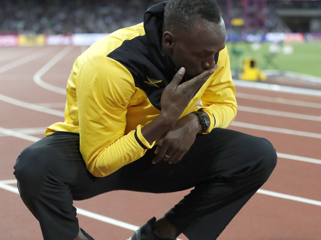 Usain Bolt Retires From Athletics At The London Stadium And Everyone's In Mourning