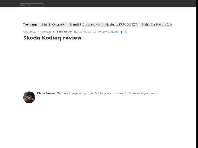 Skoda Kodiaq review